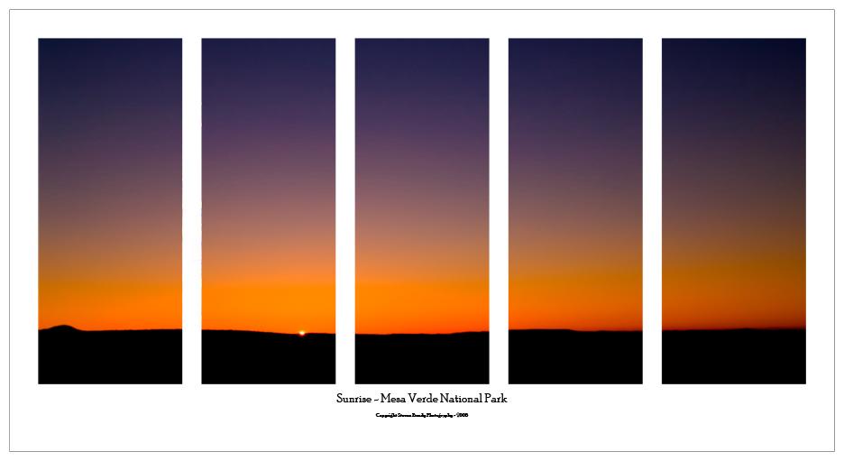 Mesa Verde Sunrise